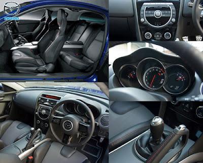 mazda rx8 black, mazda rx8 interior