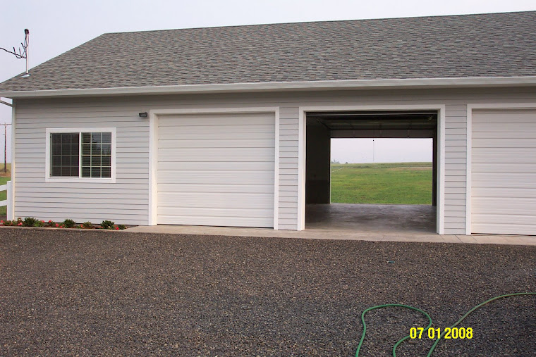 Front of garage/shop