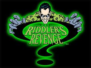 Riddlers Revenge Magic Mountain