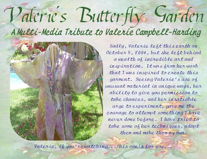 """Valerie""""s Butterfly Garden"""