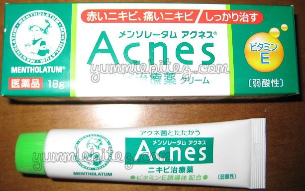 Product Review Rohto Mentholatum Acnes Gel Beautybitten A