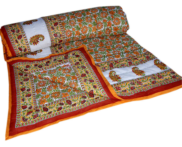 Quilt Indian Quilts Patchwork Quilts India And Handwork