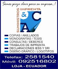 SUMINISTROS E IMPRENTA A&C