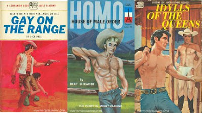 Hunky gay cowboys