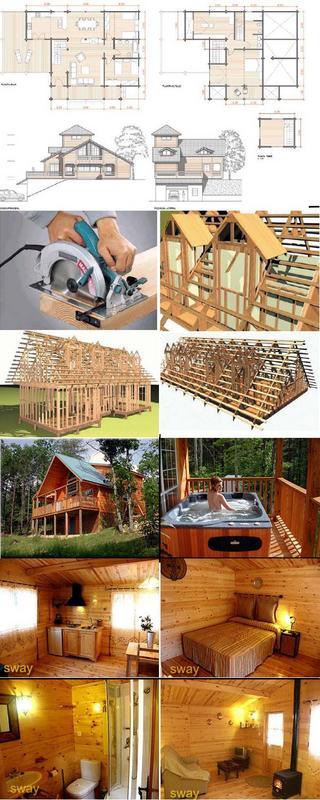 Construccion de casas de madera capseacusiz - Construccion casas de madera ...
