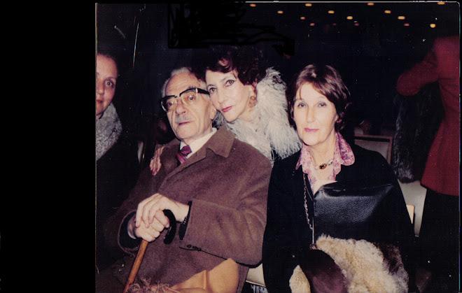 Ruth con César Tiempo