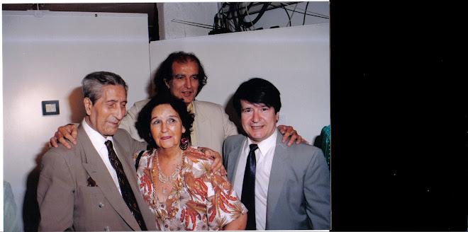 Con Arturo Cuadrado