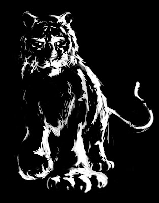 black tiger animal - photo #35