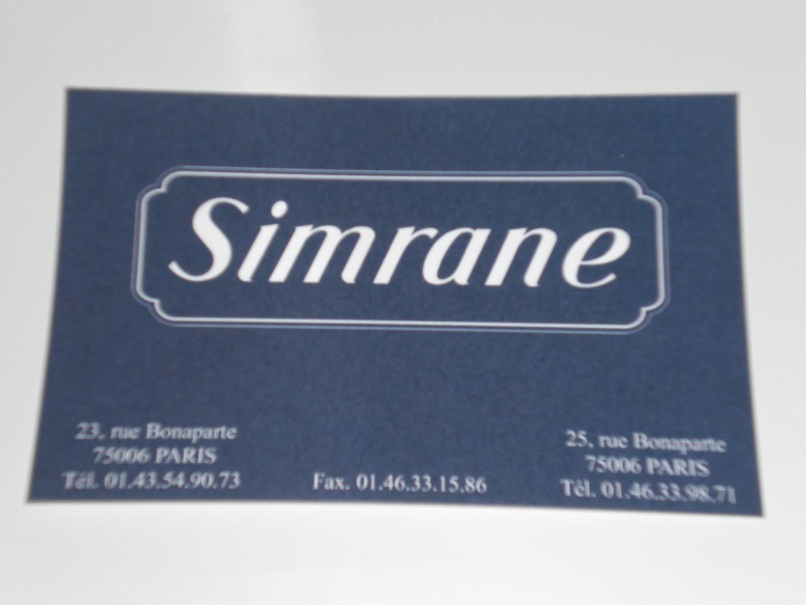12dd0b3fe Shopping at Simrane in Paris