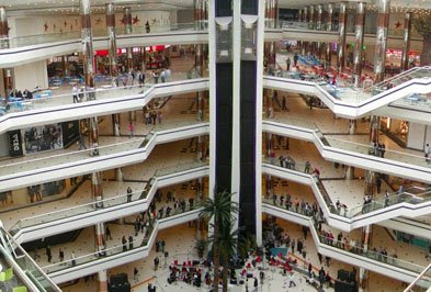WORLD'S BIGGEST SHOPPING MALL South China Mall, Dongguan, China.........892,000 meter-square.. Shops on 6 floors