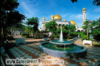 The Gradan in Palace of Sultan Brunei