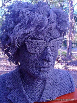 Chicken Wire Sculptures