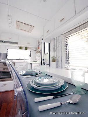 Luxury Camping Caravan Interior Design