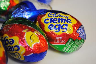 creamy eggs candy