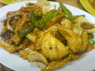 Chin Chin Eating House, sliced fish black bean sauce