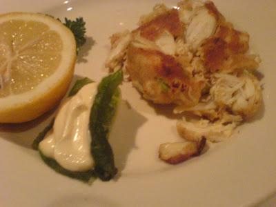 Morton's, crab cake