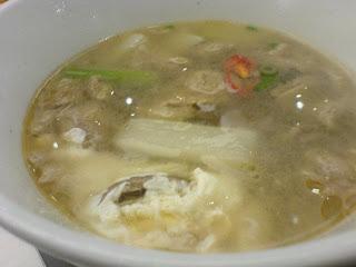 Hansang, beef rib soup