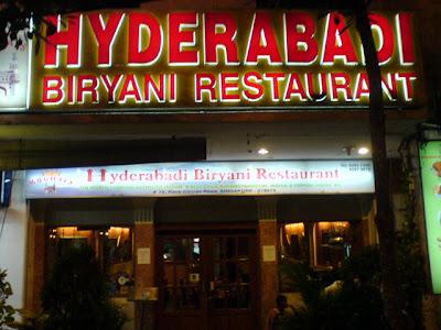 Mughals Hyderabadi Biryani Restaurant, Race Course Road