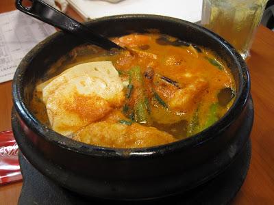 Arirang Korean Restaurant, seafood jigae