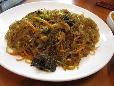 Arirang Korean Restaurant, japchae