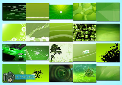 Kumpulan Wallpaper Bertema Hijau (Green Wallpapers)