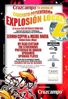 Fiesta Presentaci�n CD. II Muestra de grupos musicales n�veles Explosi�n Local