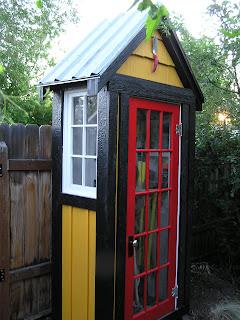 Garden Tool Closet