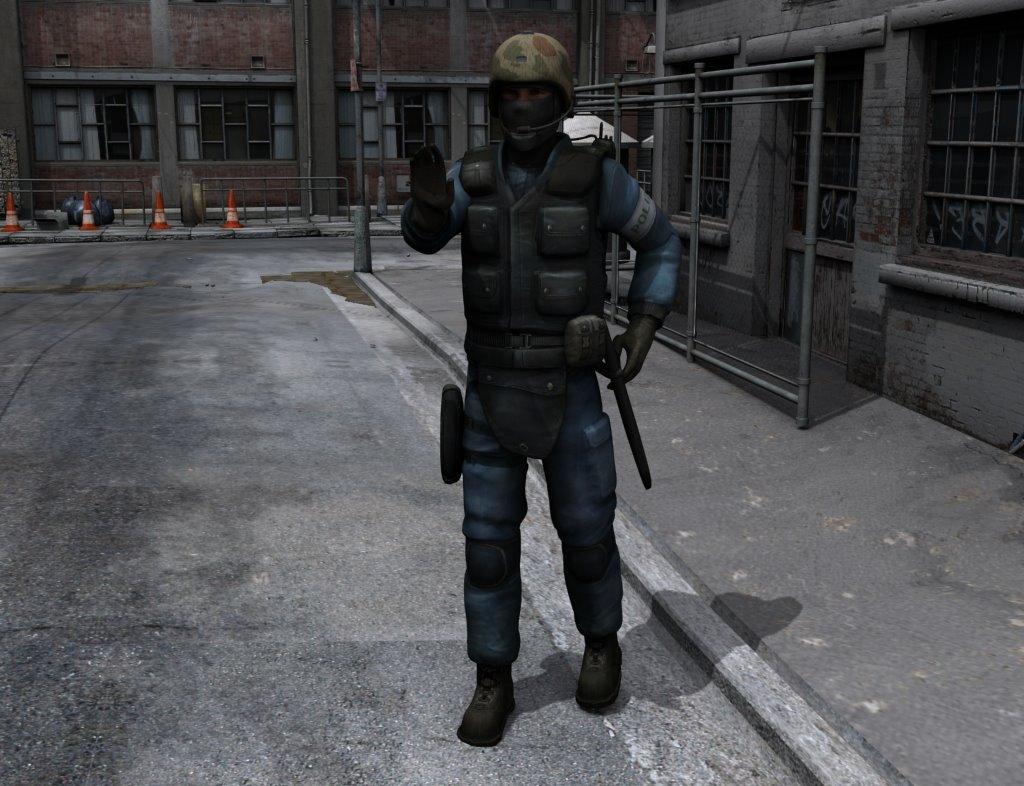 7 Free CounterStrike 3D Models