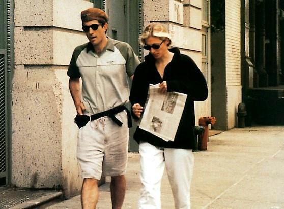 Carolyn Bessette Kennedy Blog Carolyn And John Walk To