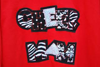 The Chocolate Zebra Cheer Mom Shirt