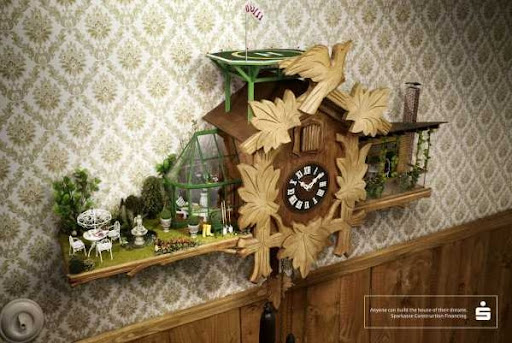Cuckoo clock by WOW Barbie