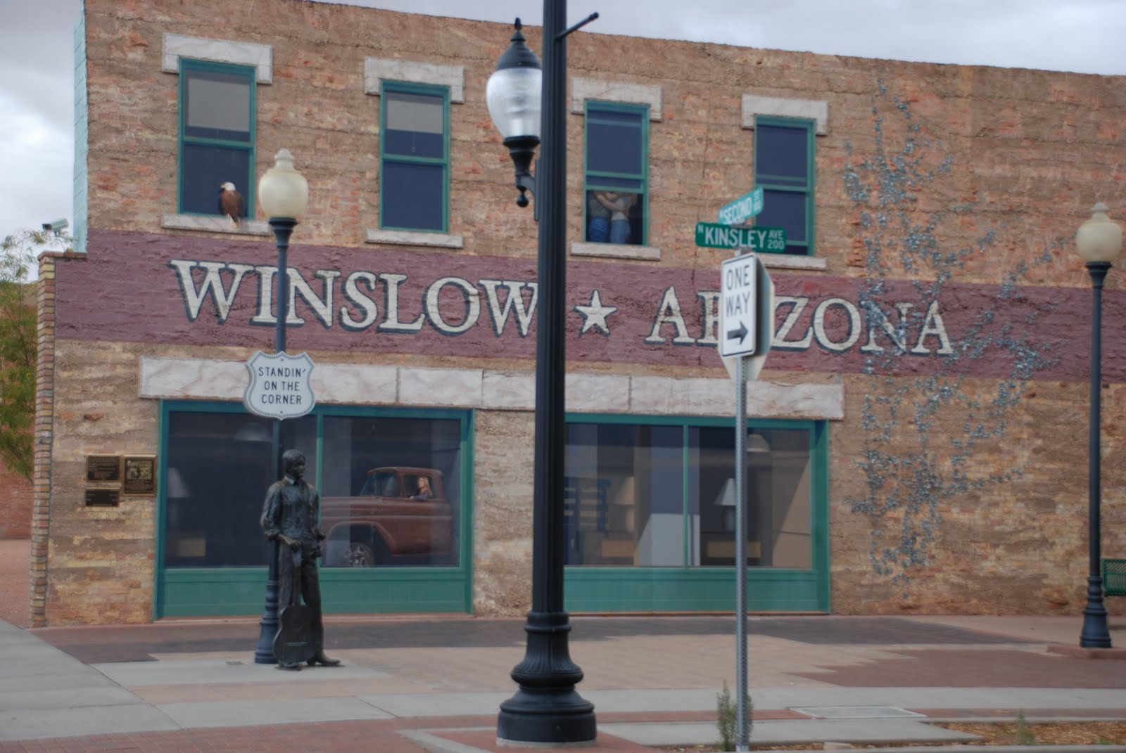 kitchens are monkey business october 22 standing on the corner in winslow arizona. Black Bedroom Furniture Sets. Home Design Ideas