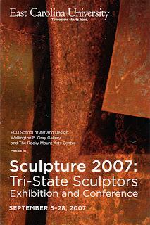 Sculpture 2007: Tri-State Sculptors Exhibit includes Vista