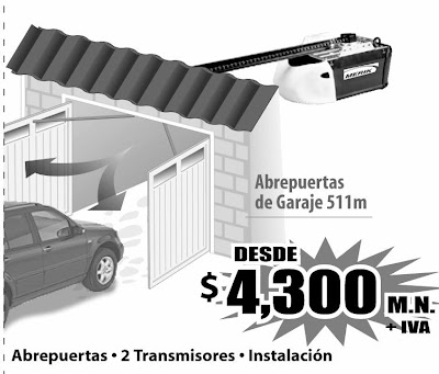 Ads cocheras automaticas - Puertas automaticas para cocheras ...
