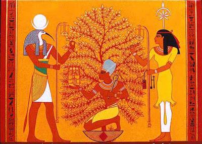 THOT SESHAT et l'arbre de vie
