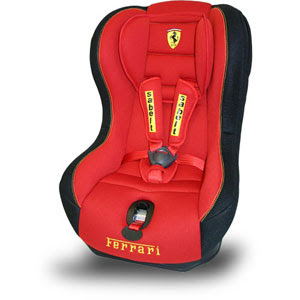 Perfect Ferrari Baby Car Seat