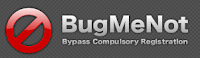 Using BugMeNot Bypass Compulsory Registration For Websites 1