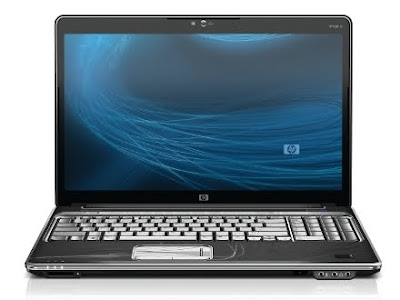 HP HDX X16 laptop front view
