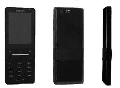 Philips X550 mobile phone