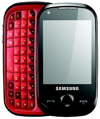 Samsung B5310 Sliding keypad mobile