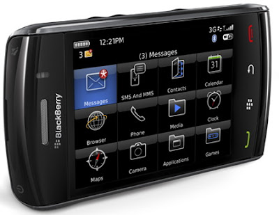 BlackBerry Storm2 9550 - The New Touch Screen Smartphone from BlackBerry 1