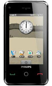 Philips V808 touch screen mobile phone