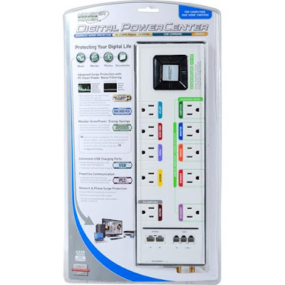 Digital Power Center_Monster GreenPower Surge Protector MDP 900