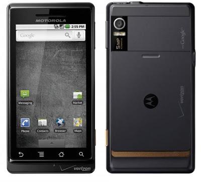 Motorola Droid from Verizon Wireless Overview