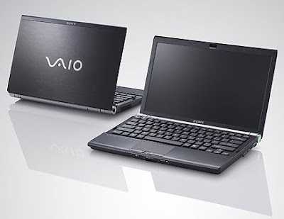 Sony Vaio VGN Z58 notebook overview