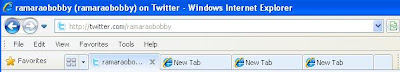 Tabbed browsing in Internet Explorer