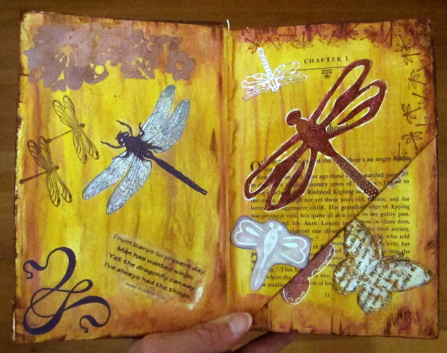 Altered Book Ideas Easy Create Altered Books Agcrewall