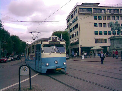 The real tram #7