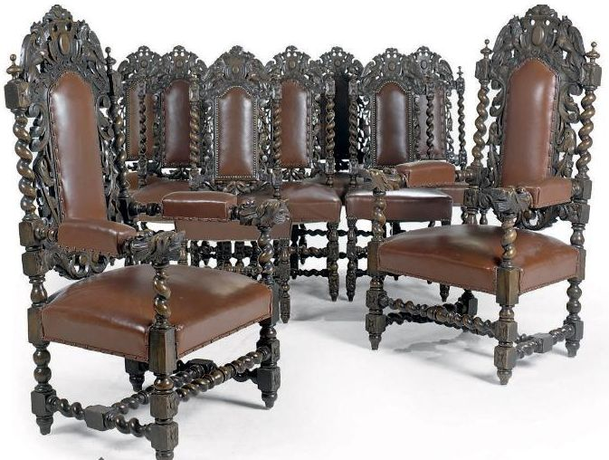 Restoration period carolean furniture ar furniture for Baroque reproduction furniture