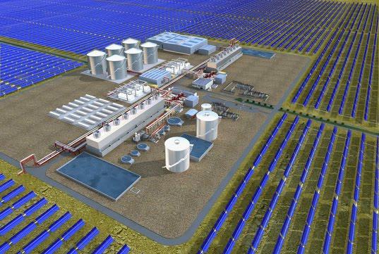 Solana Solar Power Plant Solar Energy
